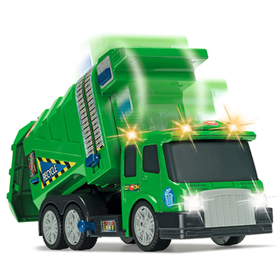 仙霸迪奇多功能环保车垃圾清洁车 声光车模3岁儿童玩具超大垃圾车